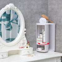 Multi-function Rotating Bathroom Rack - Shopping Gadgets at GadgetRock