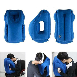 Inflatable Travel pillow - Shopping Gadgets at GadgetRock