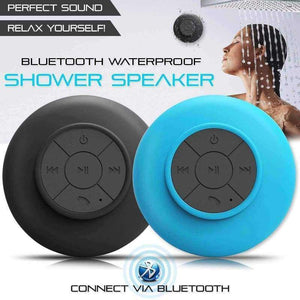 Mini Wireless Bluetooth Speaker with Suction Cup - Shopping Gadgets at GadgetRock
