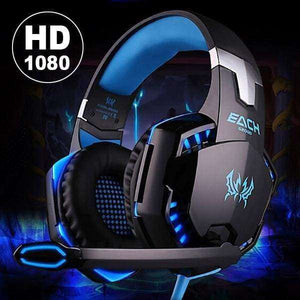USB 3.5mm Gaming Game Headset - Shopping Gadgets at GadgetRock
