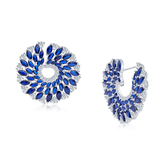 Brooke Earrings (White)