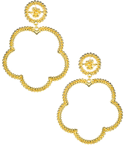 Bobbi Earrings- Gold