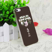 C0679 Never Be Game Over Transparent Hard Thin Case Skin Cover For Apple IPhone 4 4S 4G 5 5G 5S SE 5C 6 6S Plus