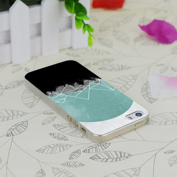 C2411 Woods Abstract Transparent Hard Thin Case Skin Cover For Apple IPhone 4 4S 4G 5 5G 5S SE 5C 6 6S Plus