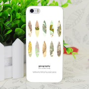C3957 Geography Of Surfing Transparent Hard Thin Case Skin Cover For Apple IPhone 4 4S 4G 5 5G 5S SE 5C 6 6S Plus