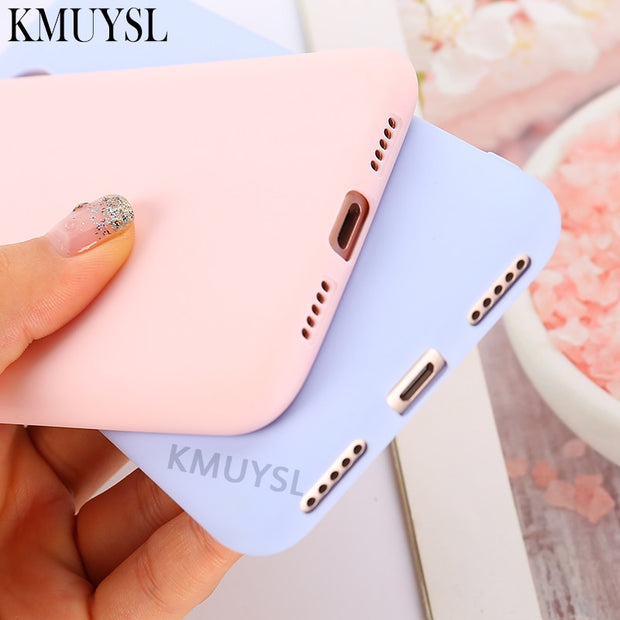 Candy Color Case For Redmi 5 Plus Note 5A 6 Pro 4X 4A 6A Soft Silicon Case For Xiaomi Mi 8 Se A1 A2 Lite 5X 6X Poco F1 Max 3 Pro