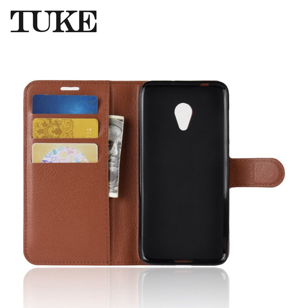 Case For Alcatel 1X Case Flip Luxury Wallet PU Leather Phone Case For Alcatel 1X 5059D 5059 5059A 1 X Case Back Cover