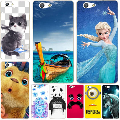 Fashion Cartoon Printing Case For Oppo Neo 5 A31 A31T Soft Silicone Phone Bag Cat Landscape Drawing Back Cover Coque Hot