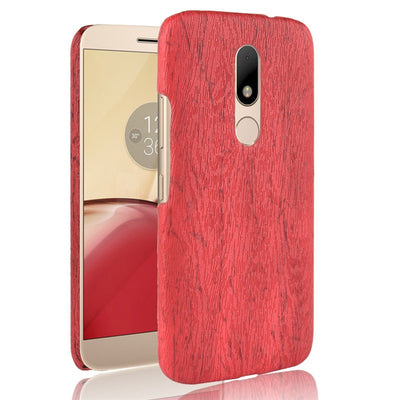 For Motorola Moto M Case Hard PU Leather Phone Case For MOTO M X1662 Case Protective Back Cover Shell For MOTO M X1663