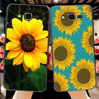 IMIDO Beautiful Sunflower Phone Case For Samsung J1 J3 J5 2016 Or For GALAXY J7 A5 A53 A7 P82