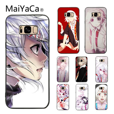 MaiYaCa Case For Galaxy S9 Anime Ghoul Suzuya Juuzou Chic Colorful Printing Phone Case For Samsung Galaxy S5 S6 S7 S8 S9 S9 Plus