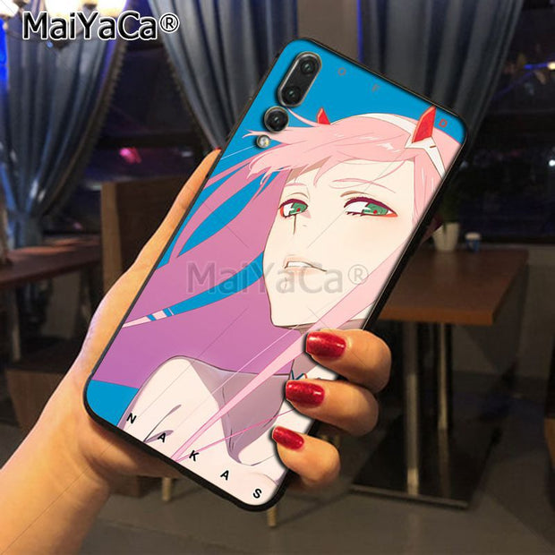 Maiyaca Darling In The Franxx 02 High Quality Classic Phone Accessories Case For Huawei Honor 9 Honor 10 P20 Case Coque