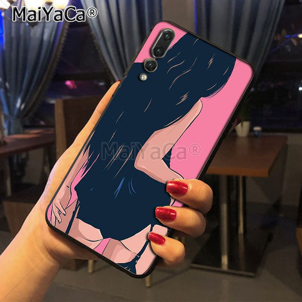 Maiyaca Sexy Girls Hot Selling Fashion Phone Case Cover For Huawei P20 P20 Pro Mate10 P10 Plus Honor9 Cass