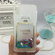 Phone Case For Motorola Moto C Plus XT1723 XT1724 Original Red Wine Cover Perfume Glass Cases Bling Lady Soft Silicon Para