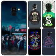 Riverdale South Side Serpents Phone Case For Samsung Galaxy J8 J6 Plus J4 Plus 2018 Soft Silicone Black Case For Galaxy J6 J8 20