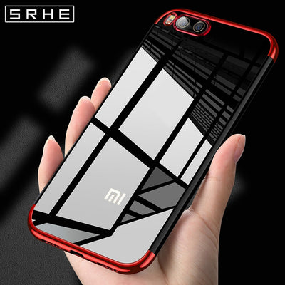 SRHE For Xiaomi Mi Note 3 Case Cover Mi Note3 Silicone Soft Plating Luxury Fashion Full Cover For Xiaomi Mi Note 3 Case