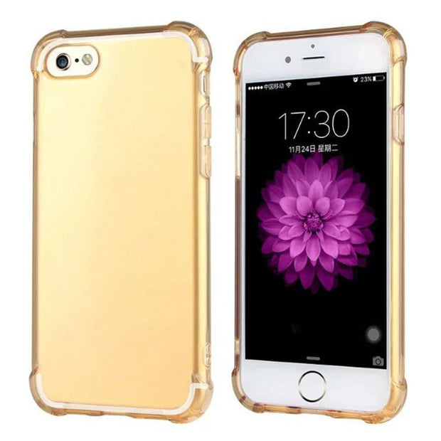 Shockproof Tough TPU Clear Case Protect Cover For Apple IPhone 6S/6 JLRJ88