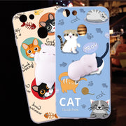 ShuiCaoRen Soft Silicone Cases For OPPO F5 / A73 A73T Case 3D Cute Squishy Pinch Phone Case For OPPO F5 Cover