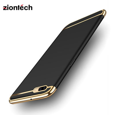 Soaptree Phone Case Cover For OPPO R11 Cases For OPPO R11 Covers Plating Hard PC Fundas Shell Housing Hood Back Bags