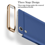 Soaptree Phone Case Cover For OPPO R9 Cases For F1+ F1 Plus Covers Plating Hard PC Fundas Shell Housing Hood Back Bags