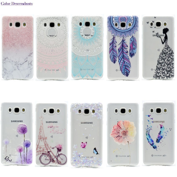 Soft TPU Cases For Samsung Galaxy J5 2016 J510 SM- J510 J510F J510FN J510H Cases For Funda Samsung J5 2016 SM J510F SM-J510FN/DS