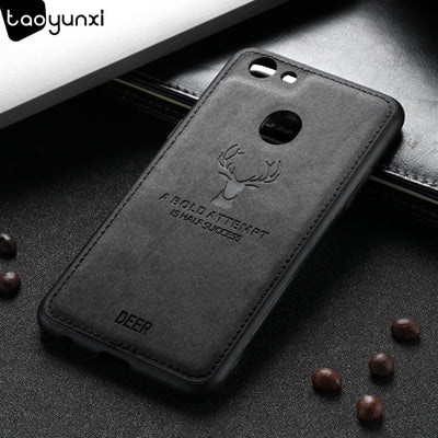 TAOYUNXI Cases For OPPO F5 6GB A73 Hard Covers For Oppo F5 Youth F5 Plus F5+ Deer Patterned Bags PU Leather Housing Shell