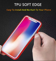 TPFIX TPU Acrylic Case For OPPO F7 F9 Phone Cases Transparent Cover For OPPO R15 R17 Pro A3S A5 A83 A73 F5 F3 Plus R11S R11 Plus