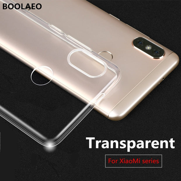 TPU Soft Case For Xiaomi Redmi Note 4X 5 4 5a 6 6a Pro Prime S2 4a Pocophone F1 Mi6 Mi Mix 2s 2 5x A1 A2 8 Lite SE 6X Case Cover