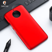 TaryTan Case For Moto C PLUS Cover Case For G5S G5 G4 G3 X3 E4 Z2 Play E2 Ultra Thin Matte Plastic Cover Housings