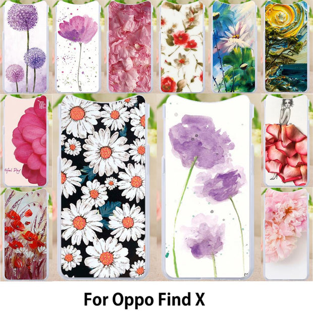 Walcox Patterned Soft Case For Oppo Find X Case Antil-knock Cover For Oppo Find X Silicone Housing Find X Bag