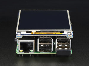 "PiTFT Plus 480x320 3.5"" TFT+Touchscreen for Raspberry Pi - Pi 2 and Model A+ / B+ - Chicago Electronic Distributors  - 8"