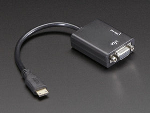 Mini HDMI to VGA Video Adapter with 3.5mm Stereo Cable - Chicago Electronic Distributors