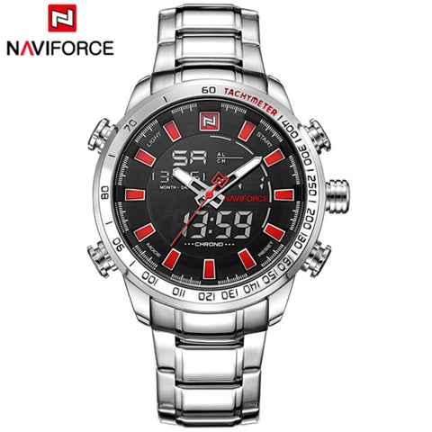 Naviforce Sport LED Quartz - Diamond Wrist
