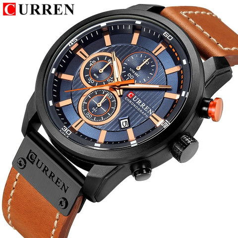 Curren 8291 Chronograph - Diamond Wrist