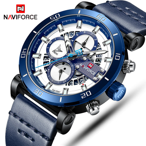 Naviforce Quartz - Diamond Wrist