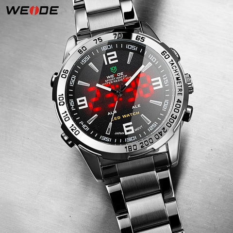 Weide LED Digital Quartz 2019 - Diamond Wrist