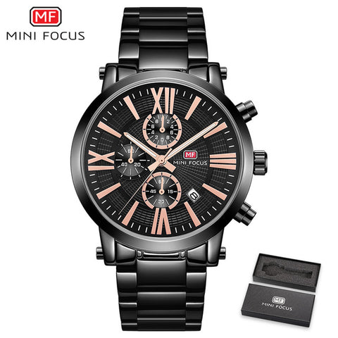 MiniFocus Sports Chronograph - Diamond Wrist