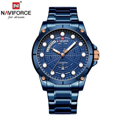 2019 Naviforce Quartz - Diamond Wrist