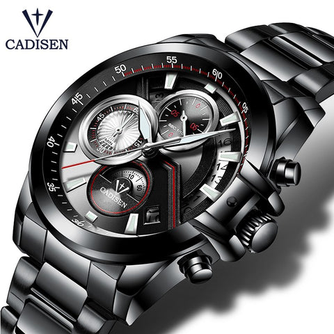Cadisen Luxury Quartz - Diamond Wrist