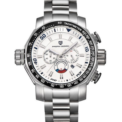 Chronograph Waterproof Quartz - Diamond Wrist
