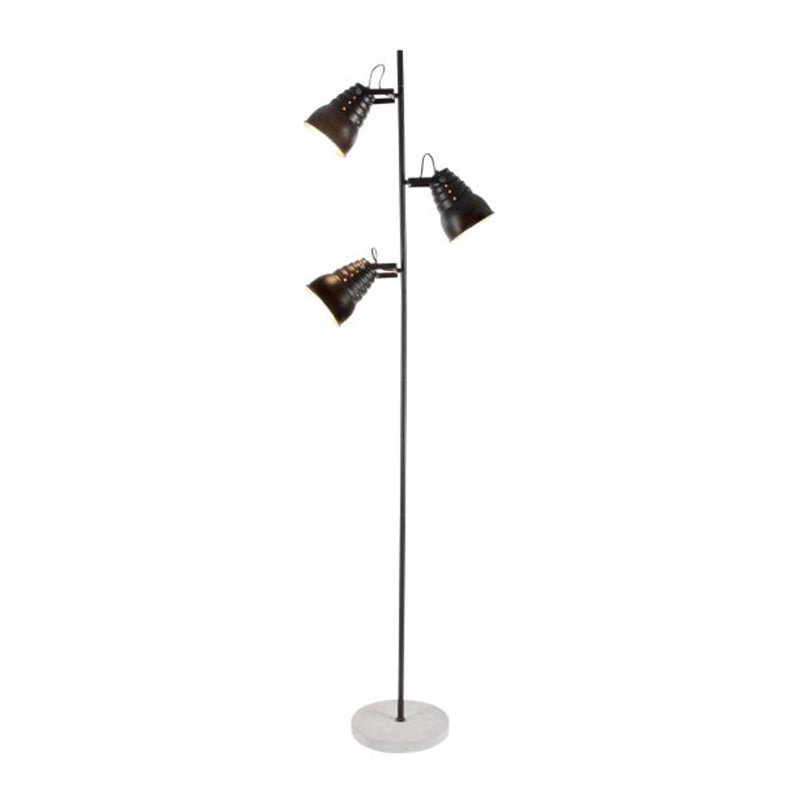 Picture of Metal and Cement Pole Lamp