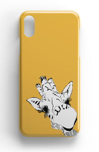 "Casey Rogers Illustrated Phone Case ""Yellow Giraffe"""