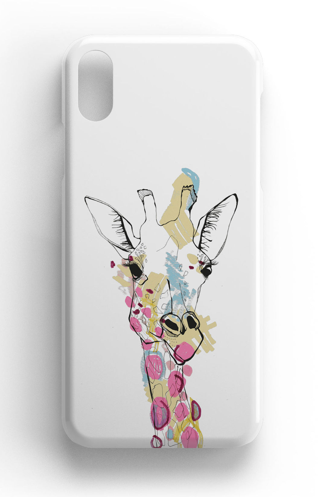 "Casey Rogers Illustrated Phone Case ""Giraffe"""