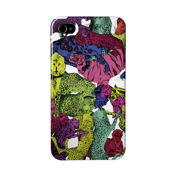 """Rainbow Galore"" case by Mina Milk iPhone 4/4S"