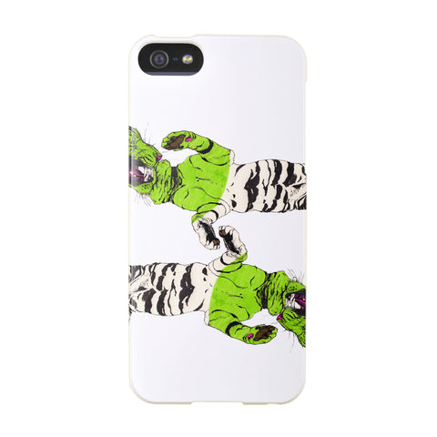 """Four Tigers"" case by Mina Milk iPhone 5/5S"
