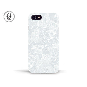 Anja Jane Grey Phone Case 'Between Strawberry Fields''