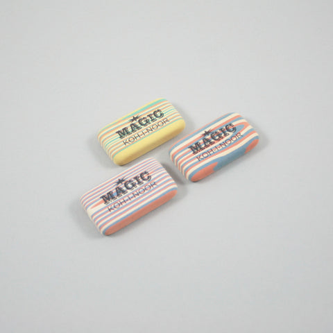 Set of Three Magic Rubbers