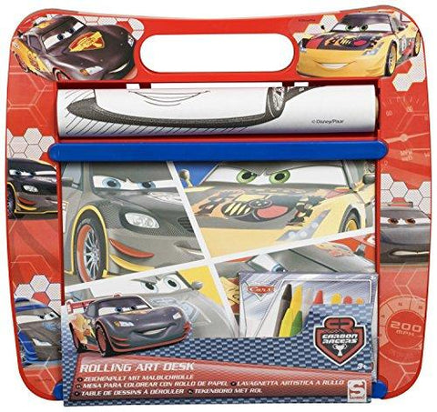 Disney Cars Rolling Art Desk
