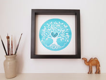 Load image into Gallery viewer, Personalised Arabic Couple's Tree of Love Print - Choose your wording and colours