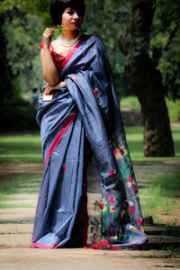 West Bengal MATKA SILK HANDLOOM SAREE
